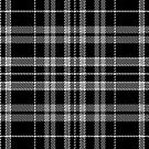 Black with white Plaid by HighDesign