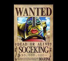 Wanted Sogeking (Ussop) - One Piece by Doremi972