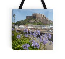Gorey Castle Jersey Channel Islands Tote Bag