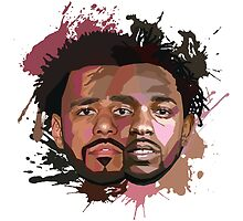 Kendrick Lamar & J Cole by zrmcqueen