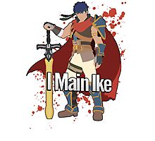 I Main Ike - Super Smash Bros. Photographic Print