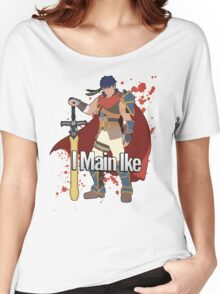 I Main Ike - Super Smash Bros. Women's Relaxed Fit T-Shirt