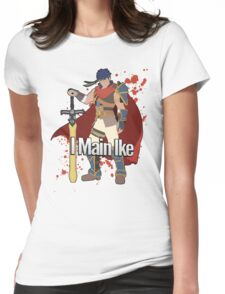 I Main Ike - Super Smash Bros. Womens Fitted T-Shirt