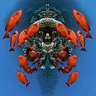 Digital Art - Underwater by Henry Jager