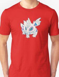 Nidorina Pokemuerto | Pokemon & Day of The Dead Mashup T-Shirt