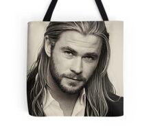 chris hemsworth Tote Bag