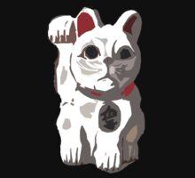 Maneki Neko - Beckoning Cat by Jenny Nakao Hones