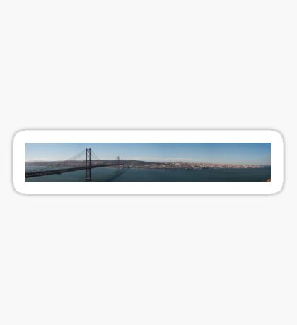 Lisbon Panorama Sticker