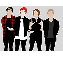 5SOS Silhouettes Photographic Print