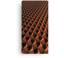 Rusty Pyramids Canvas Print