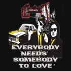 Everybody needs Somebody to Love - BLACK by vampyba