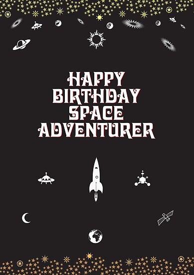 Happy Birthday Space Adventurer by springwoodbooks