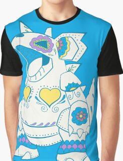 Nidoqueen Pokemuerto | Pokemon & Day of The Dead Mashup Graphic T-Shirt