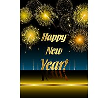 Happy New Year Photographic Print