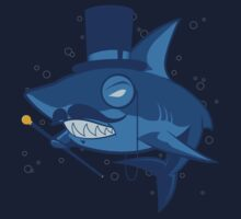 Nefarious Shark Baby Tee