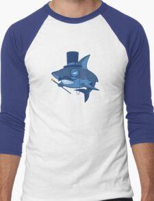 Nefarious Shark Men's Baseball ¾ T-Shirt