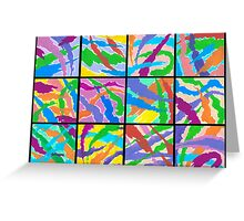 12 ABSTRACT MINIS Greeting Card