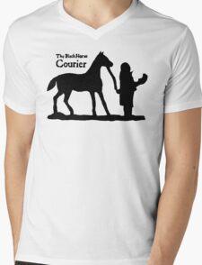 The Black Horse Courier TES: Oblivion Mens V-Neck T-Shirt