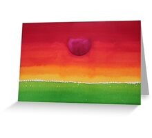 Acceptance original painting Greeting Card