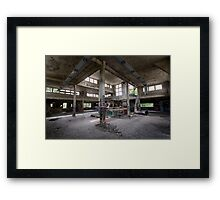 Mess Hall Framed Print