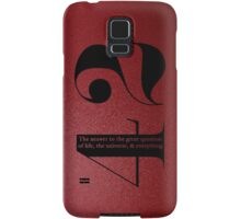 42 Samsung Galaxy Case/Skin