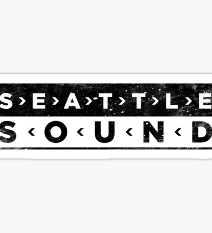 Seattle Sound Sticker