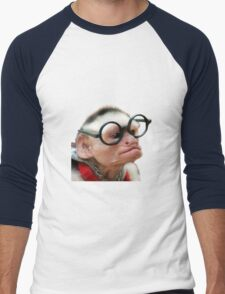 Funny Monkey Men's Baseball ¾ T-Shirt