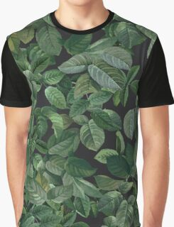 Greenery leaves pattern Graphic T-Shirt