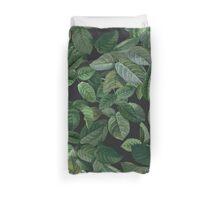 Greenery leaves pattern Duvet Cover