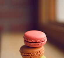French Macaroon Pile-up by Shannon Kerr