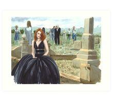 Queen Of The Undead Art Print