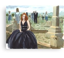 Queen Of The Undead Canvas Print