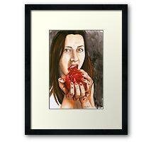 Cannibal Connie Framed Print