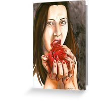 Cannibal Connie Greeting Card