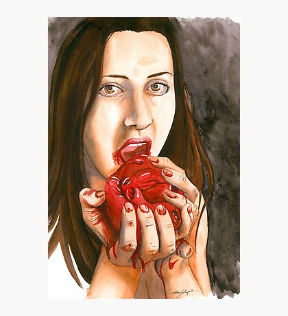 Cannibal Connie Photographic Print