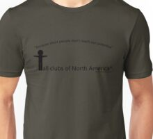 Tall Clubs of North America Unisex T-Shirt