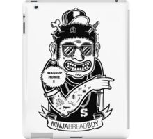 Ninja Bread Boy iPad Case/Skin