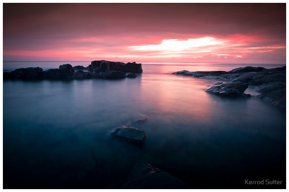 Bass Point Sunrise #1 by Kerrod Sulter