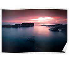 Bass Point Sunrise #1 Poster