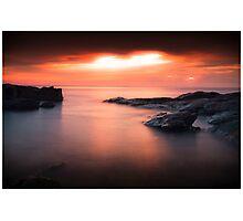 Bass Point Sunrise #2 Photographic Print
