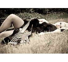 lust for music Photographic Print