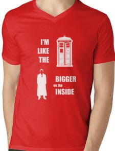 Like the TARDIS - Doctor Who Mens V-Neck T-Shirt