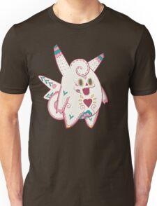 Clefable Pokemuerto   Pokemon & Day of The Dead Mashup Unisex T-Shirt