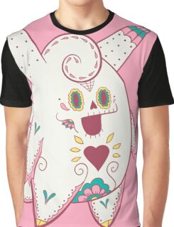 Clefable Pokemuerto | Pokemon & Day of The Dead Mashup Graphic T-Shirt