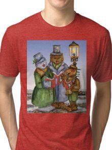 Caroling Cryptids Tri-blend T-Shirt