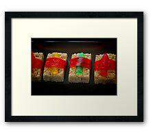 Sushi for Kids Framed Print