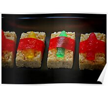 Sushi for Kids Poster