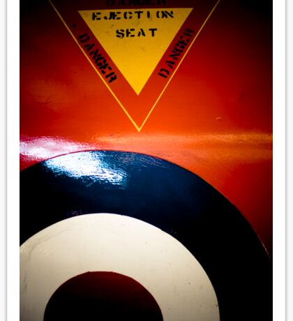 Ejection Seat Sticker