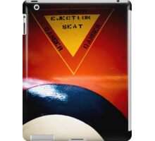 Ejection Seat iPad Case/Skin