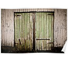 Shed Doors Poster